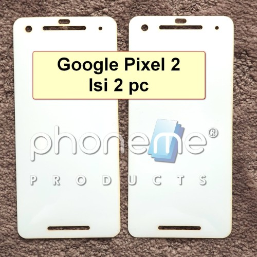 Foto Produk Google Pixel 2 - Isi 2 - PhoneMe Anti Gores Full Cover Hydrogel dari PhoneMe Store Indonesia