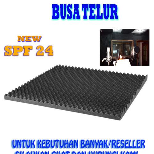 Foto Produk SOUNDPROOF FOAM BUSA TELUR PEREDAM SUARA RUANGAN 200X100X3.7CM dari Twelvee