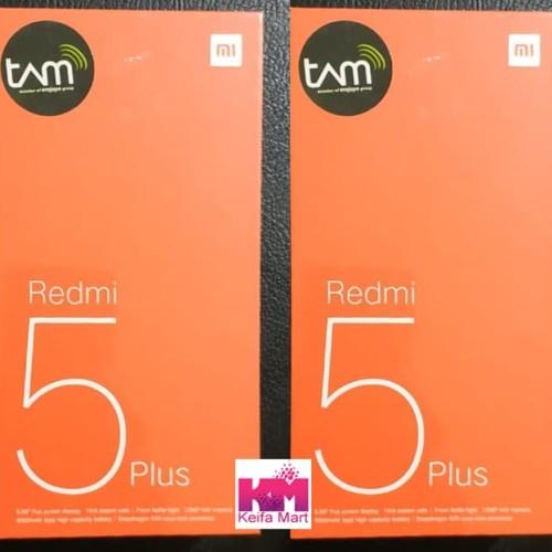 Foto Produk Xiaomi Redmi 5 Plus Garansi TAM dari Keifa Mart