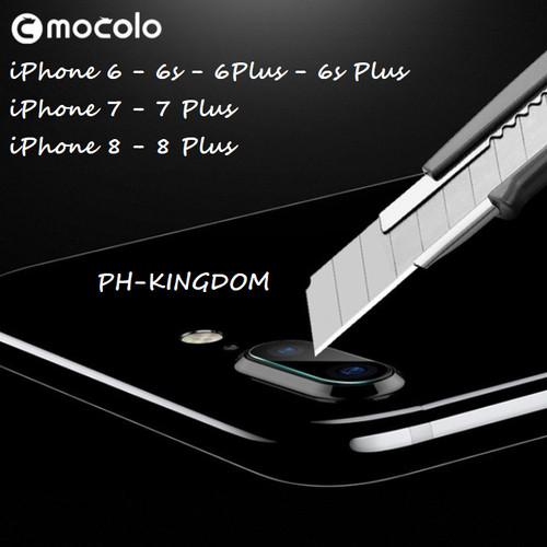 Foto Produk MOCOLO iPhone 6 6s 6+ 6s+ 7 7+ 8 8+ Camera Lens Tempered Glass - iPhone 6 6s dari PH-KINGDOM
