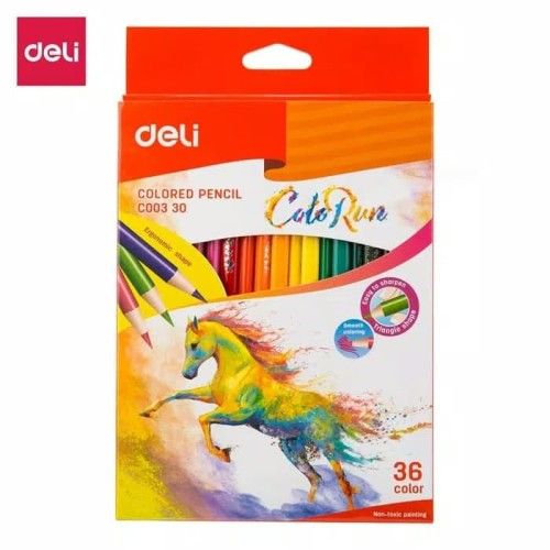 Foto Produk Deli Colored Pencil 36C dari Chelsea&Michelle