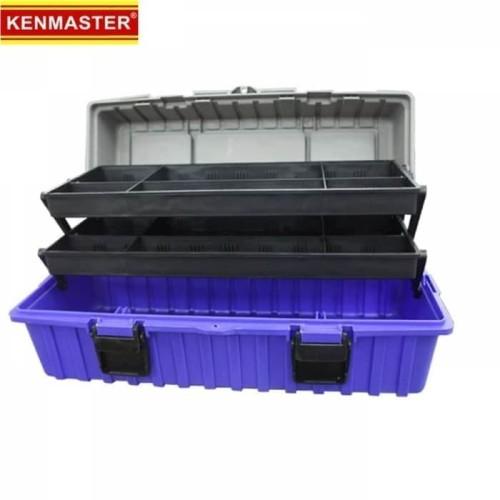 Foto Produk Kenmaster Toolbox Heavy Duty 17inch kotak pekakas tool box dari Dbestcompushop