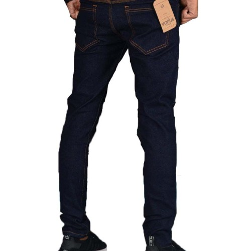Foto Produk Celana Jeans Denim Premium ANZ Pensil/Skinny/Streach Hitam CO - Donker, S dari Anza Shop