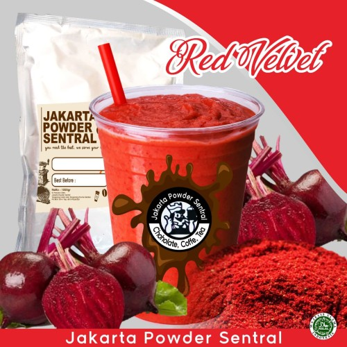 Foto Produk BUBUK MINUMAN KEMASAN 1KG RASA RED VELVET dari Spring Up Your Beauty