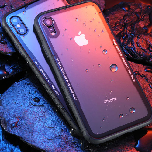 Foto Produk [ORI] Cafele Glass CASE IPHONE XS / XS MAX / XR |BEST SELLER - XS WHITE dari Lapak X Dareh