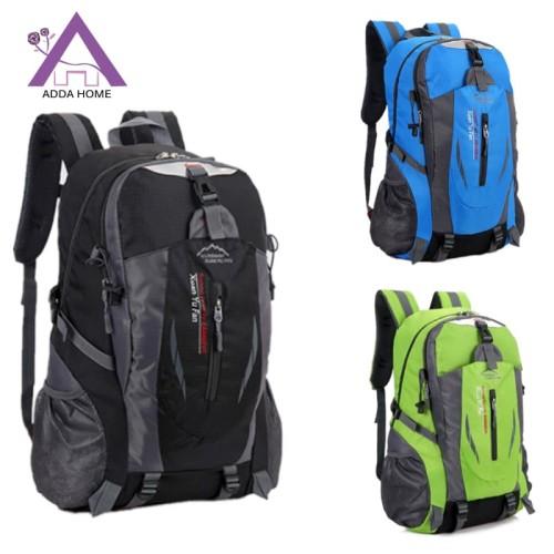 Foto Produk ADDA HOME - Tas Ransel Backpack Untuk Berkhemah Atau Travel 52x30x16cm - Hijau muda dari vintagestory