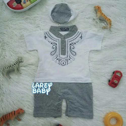 Foto Produk Baju Muslim Koko Bayi New Born Kualitas Premium dari Kalya Baby Shop