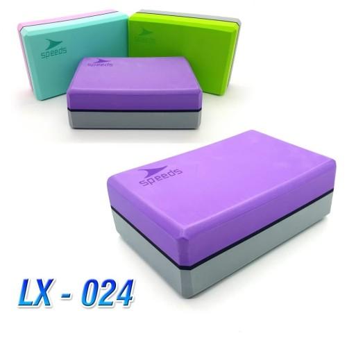 Foto Produk Balok Yoga Brick Block Bantal Yoga Pilates 2 Lapis Awet PVC Speeds 024 dari lbagstore