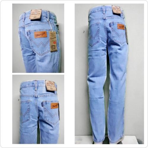 Foto Produk Celana Jeans Denim Bandung WANZ Standar/Regular Biowash 33-38 CO - BIOBLITZ, 34 dari Anza Shop