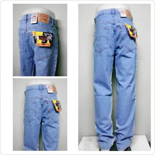 Foto Produk Celana Jeans Branded Levi's/levis Standar/Regular Coklat 27-32 CO - BIOBLITZ, 28 dari Anza Shop