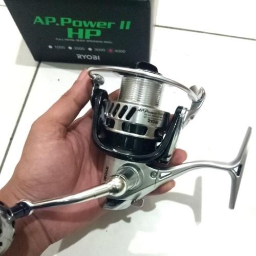 Foto Produk ( REEL RYOBI AP POWER II HP4000 REEL METAL BODY dari Srishooop