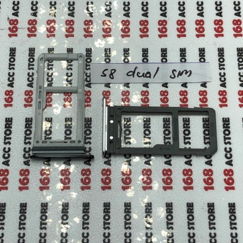 Foto Produk SIM TRAY / SIM LOCK / TEMPAT SIM CARD / SLOT KARTU SAMSUNG S8 /S8 PLUS dari 168ACCSTORE