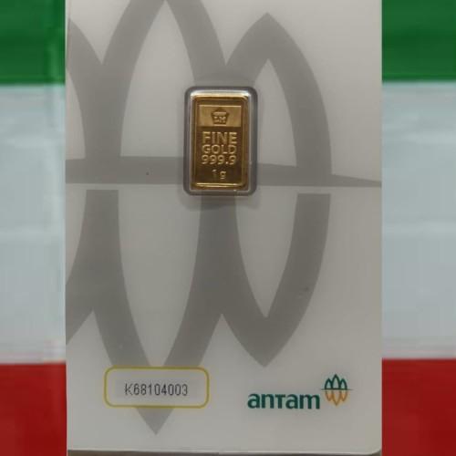 Foto Produk Emas Antam Logam Mulia 1gr Press dari adystoree
