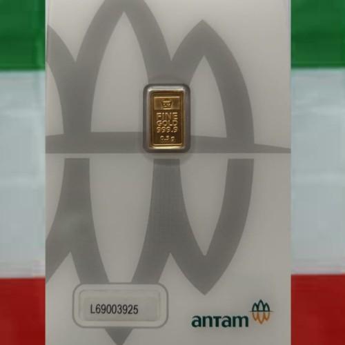 Foto Produk Emas Antam Logam Mulia 0,5gr Press dari adystoree