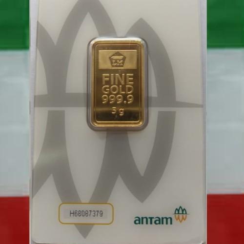 Foto Produk Emas Antam Logam Mulia 5gr Press dari adystoree