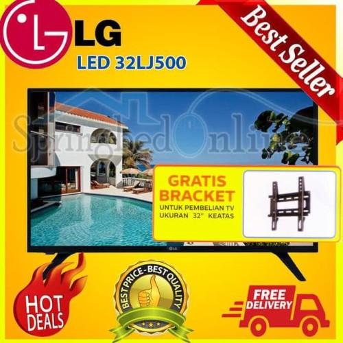 Foto Produk BEST SALE LG 32LJ500D HD LED TV 32 INCH DIGITAL TV DOLBY AUDIO USB dari Ayuee shop