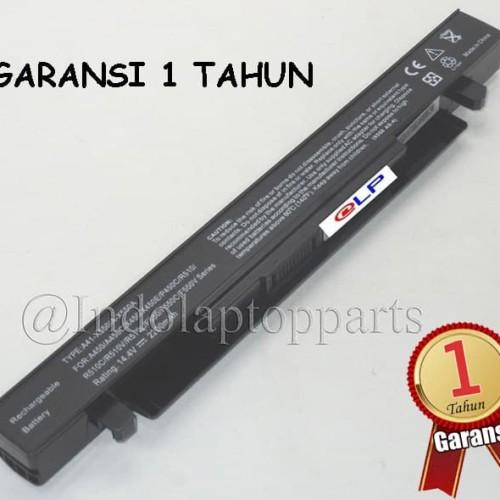 Foto Produk Baterai Asus X450 X450C X450CA X450V X452 A41-X550 A41-X550A Black dari Indolaptopparts Store