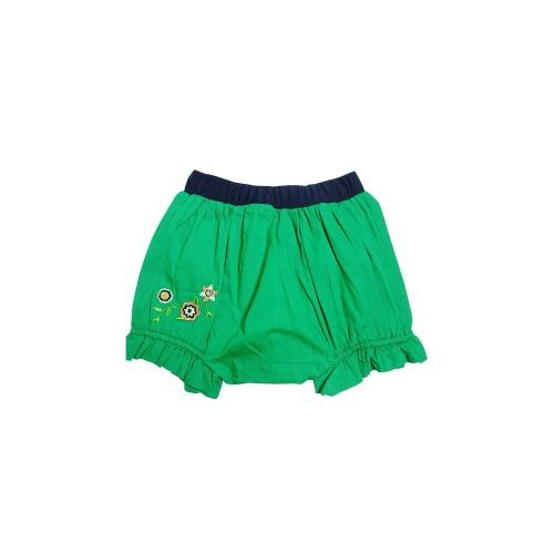 Foto Produk KIDS ICON - Celana COLOURS Girl Green Short Pants - CGCK1200180 - 6-12 Bln dari Kids Icon
