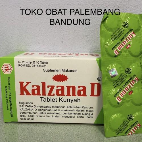 Jual Kalzana D Tablet Kunyah Strip Isi 10 Tablet Kalsium Vitamin D Kota Bandung Toko Obat Palembang Tokopedia