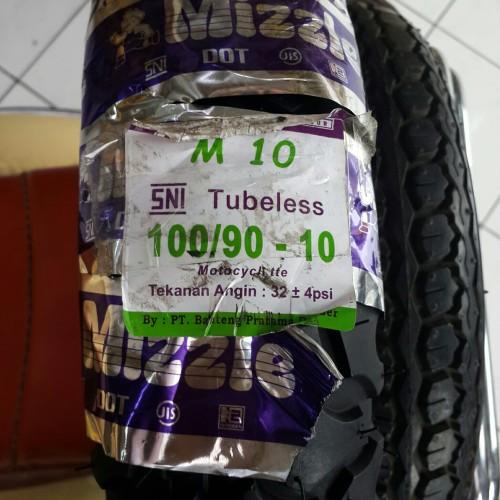 Foto Produk MIZZLE 100/90-10 M10 BAN VESPA KLASIK LARGEFRAME KEMBANG TRAIL dari AnekaBan PondokAren