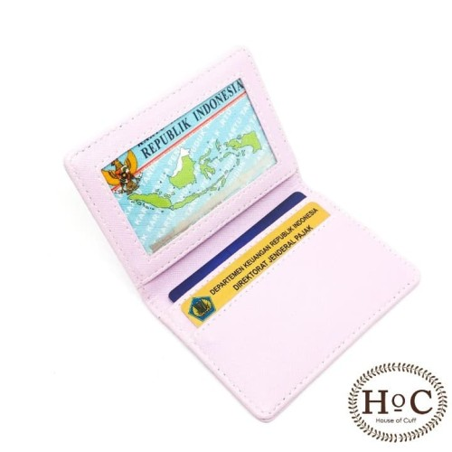 Foto Produk houseofcuff fold card holder dompet kartu simple wallet tempat kartu - Ungu dari House of Cuff