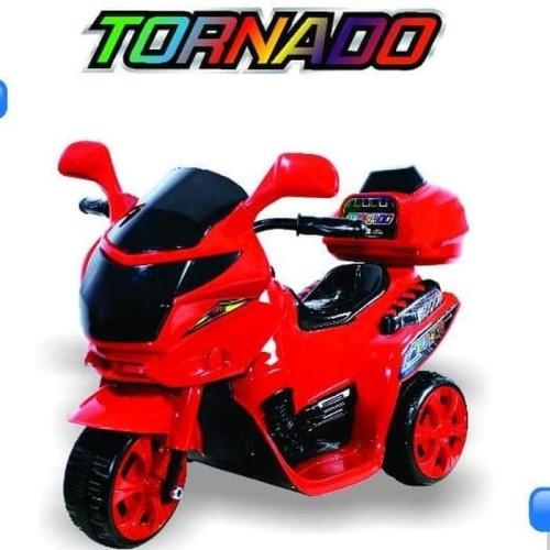 Foto Produk Motor Aki Tornado Mainan Anak dari Junior Toys