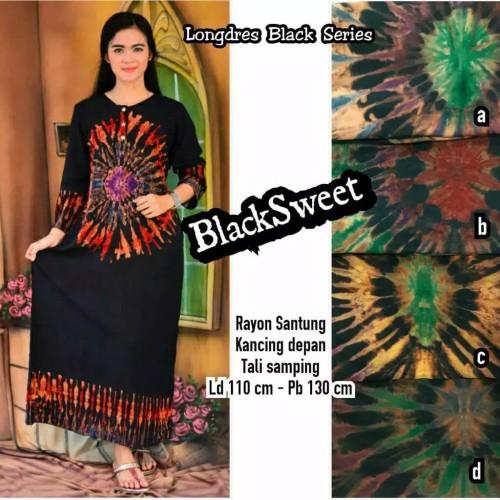 Foto Produk Gamis Batik / Longdress Batik / Baju Lengan Panjang dari RisqianaBatik