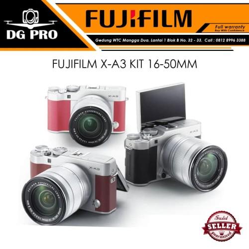Foto Produk FUJIFILM X-A3 KIT 16-50MM - KAMERA MIRRORLESS FUJI XA3 - XA3 dari DG PRO
