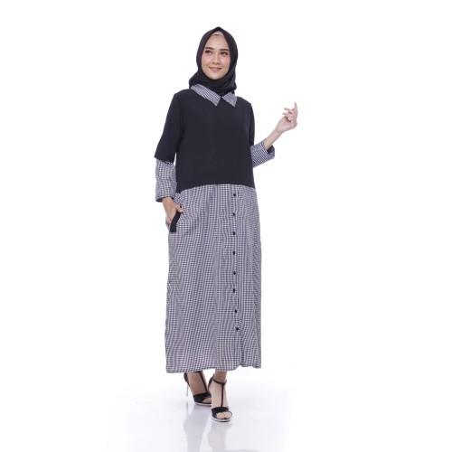 Foto Produk Kellen Dress - Black dari Tazkia Hijab Store