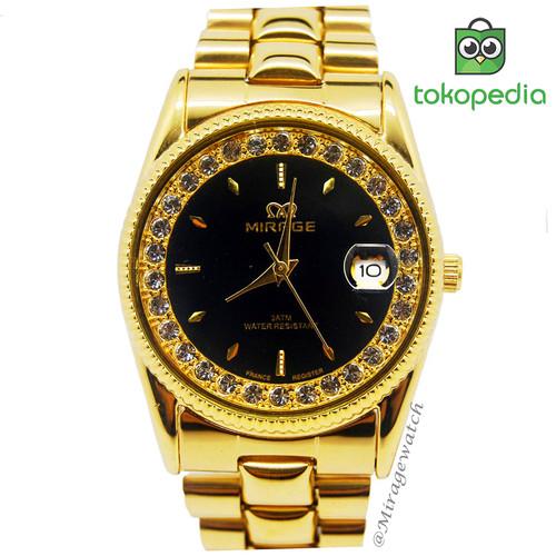 Foto Produk Mirage Jam Tangan Wanita Rx Gold dari Mirage Watch