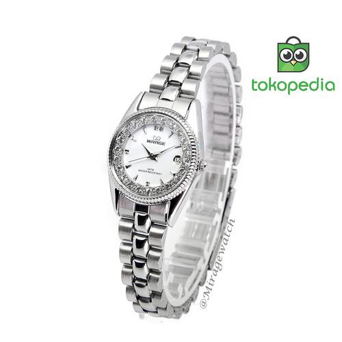 Foto Produk Jam tangan Mirage Wanita Original RX 1580 L SIlver pP dari Mirage Watch