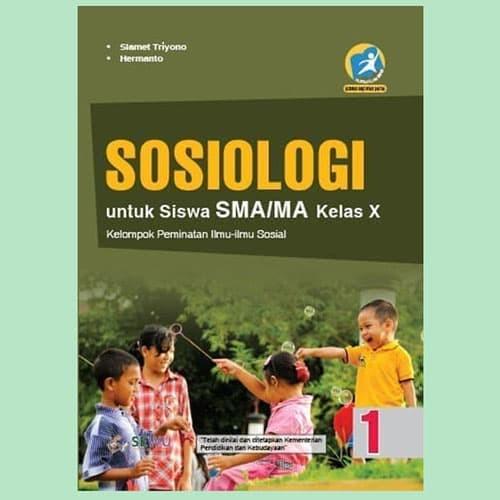 Foto Produk BUKU SOSIOLOGI SMA/MA KELAS X PEMINATAN K13 REVISI SLAMET TRIYONO dari Media Book Store