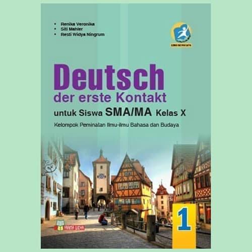 Foto Produk BUKU BAHASA JERMAN SMA/MA KELAS X PEMINATAN K13 REVISI dari Media Book Store