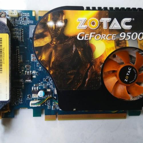 Foto Produk VGA PCI-E Nvidia GeForce 9500 GT 512Mb 128Bit GAMER dari tritan kom