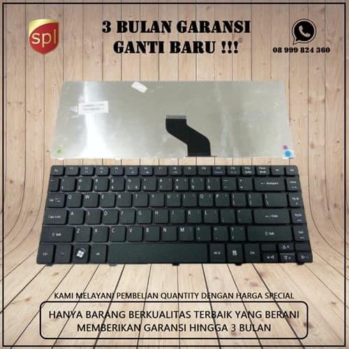 Foto Produk Keyboard Acer 4736 4738 4739 4740 4741 4750 4752 4349 4250 Black dari SparepartLink
