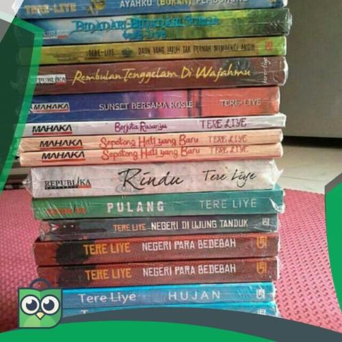 Foto Produk Paket 4 Novel Tere Liye. KOMET. CEROS. HUJAN. RINDU. PULANG. DAUN. dari Fitri Shop.ID