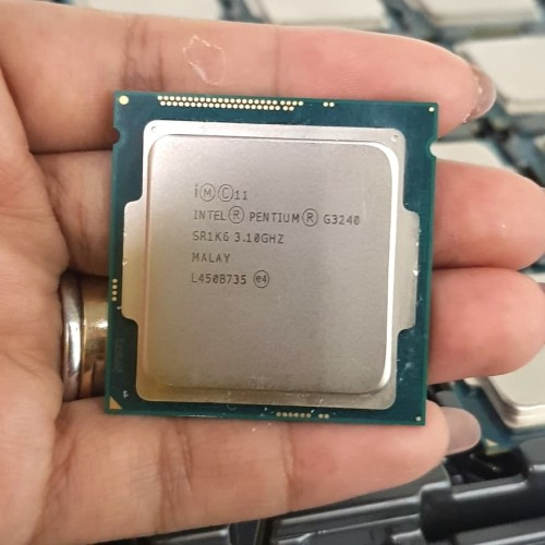 Foto Produk PROCESSOR INTEL G3240 TRAY + FAN 1150 dari iconcomp
