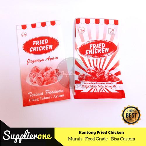 Foto Produk Kantong Fried Chicken isi 50 pcs, Kemasan Kertas fried chicken dari supplierone