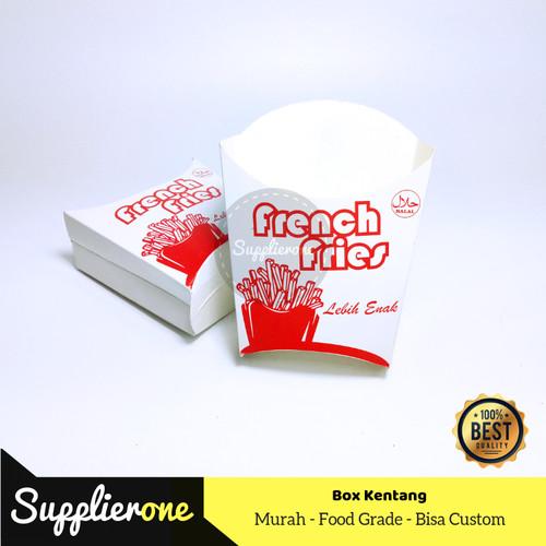 Foto Produk Kantong Kentang Goreng, Box Kentang Goreng, Kemasan Kentang Goreng dari supplierone