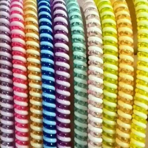 Foto Produk Pelindung Kabel 2 warna cable cord protector dari jaminmurah899