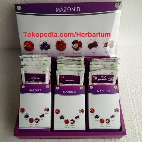 Foto Produk Mazon B Herbal / Amazon Berries Original Asli dari Herbarium