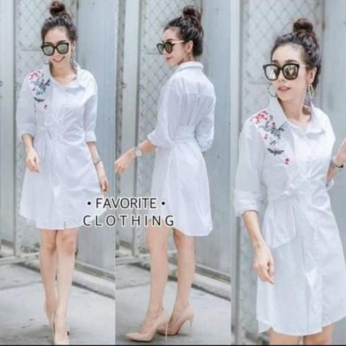 Foto Produk [Dress favorite RO] dress wanita katun rayon dari Clitoria