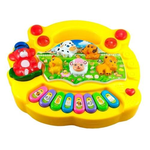 Foto Produk Animal Farm Piano Mainan Musik Anak dan Bayi dari Grandia Shop