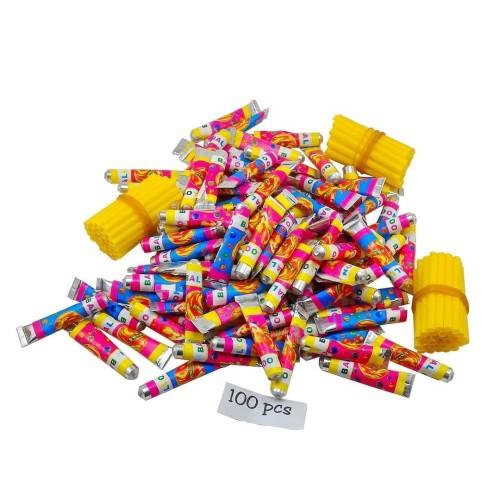 Foto Produk 100 pcs Balon Tiup / Plembungan Merk 777 mainan jadul 90an dari Grandia Shop