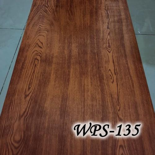 Foto Produk WALLPAPER STICKER 45CMX5M- WPS135-MAHOGANY WOOD dari radja dinding
