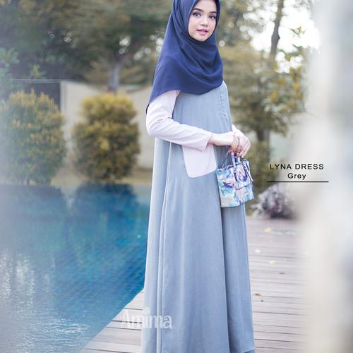 Foto Produk BAJU GAMIS TERBARU AMIMA LYNA DRESS dari Gamis Chic
