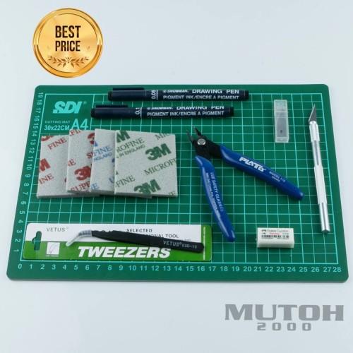 Foto Produk Gunpla Gundam Tools Set tool set toolset toolkit toolkit  SDI A4 dari mutoh2000, Jl. Kom Migas 41 No.36A Jakarta Barat