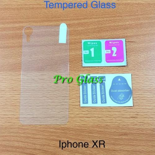 Foto Produk Iphone XR BACK TEMPERED GLASS Premium Magic Glass dari Pro Glass