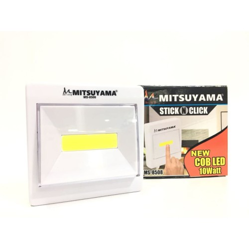 Foto Produk Lampu Emergency Mitsuyama Stick N Click MS-8508 COD LED 10watt dari Jualindo KP