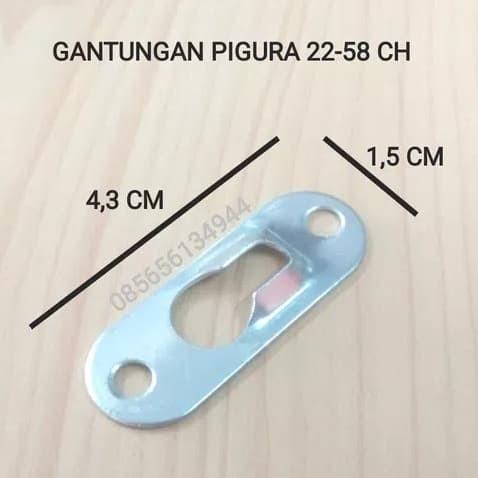 Foto Produk Plat Gantungan Pigura 22-58 CH dari Toko Income